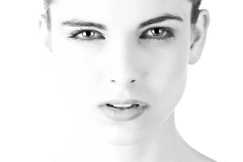 twarz kobiety
